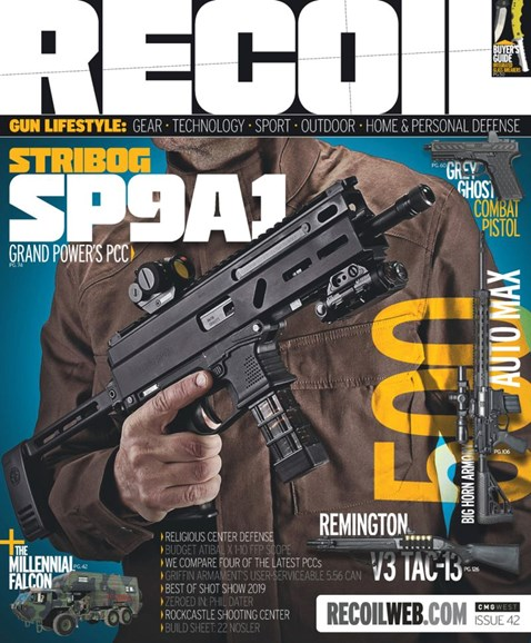 Recoil Cover - 5/1/2019