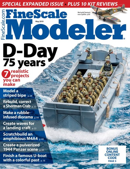 Finescale Modeler Cover - 5/1/2019