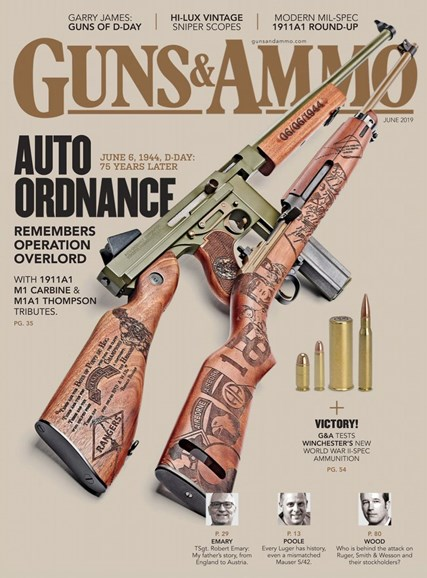 Guns & Ammo Cover - 6/1/2019