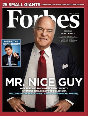 Forbes Magazine | 5/31/2019 Cover