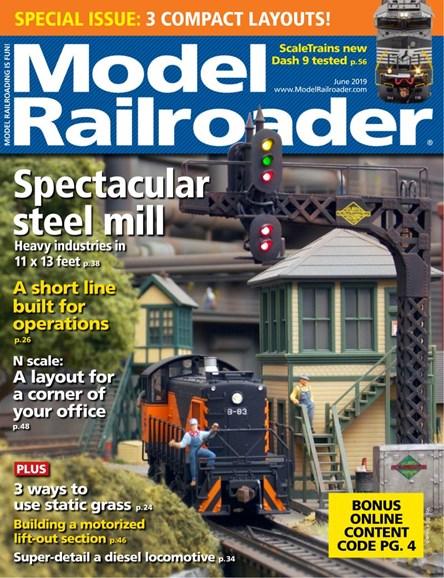 Model Railroader Cover - 6/1/2019