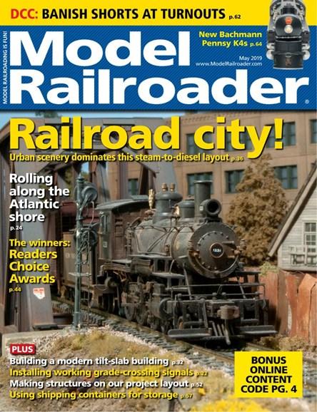 Model Railroader Cover - 5/1/2019