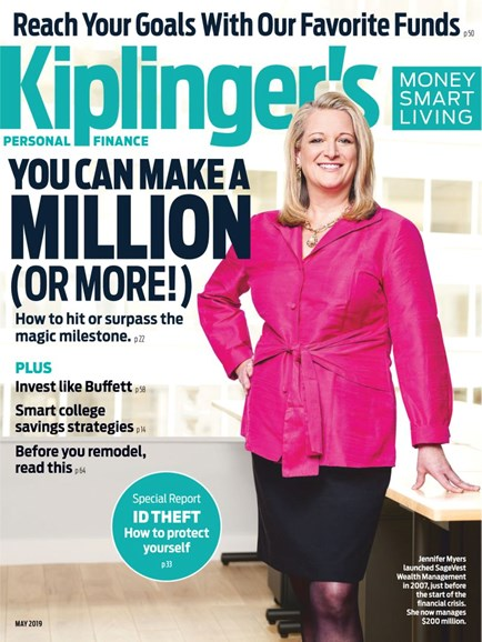 Kiplinger's Personal Finance Cover - 5/1/2019