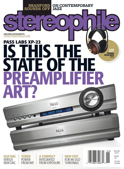 Stereophile Cover - 6/1/2019
