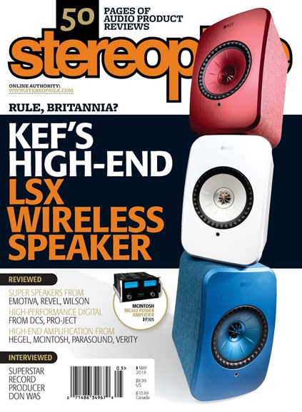 Stereophile Cover - 5/1/2019