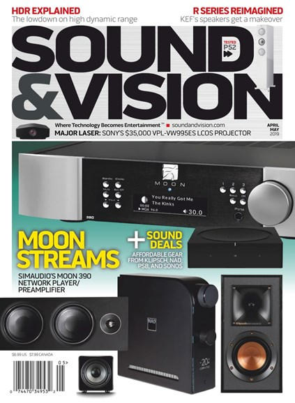 Sound & Vision Cover - 4/1/2019
