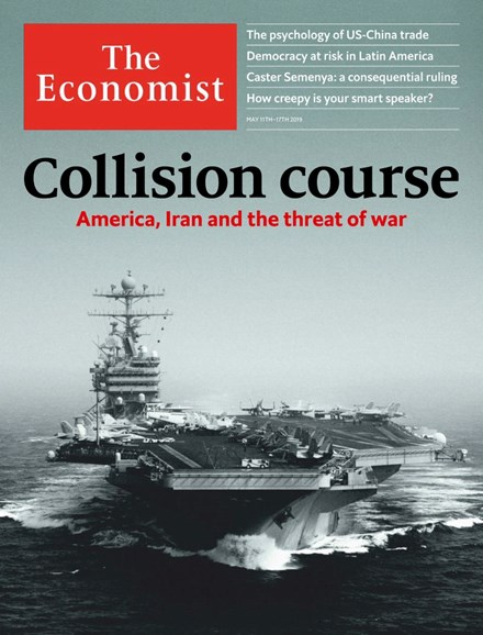 The Economist Cover - 5/11/2019