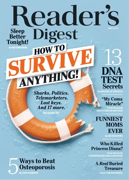 Reader's Digest Cover - 5/1/2019