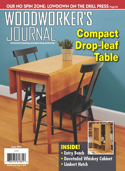 Woodworker's Journal Cover - 6/1/2019