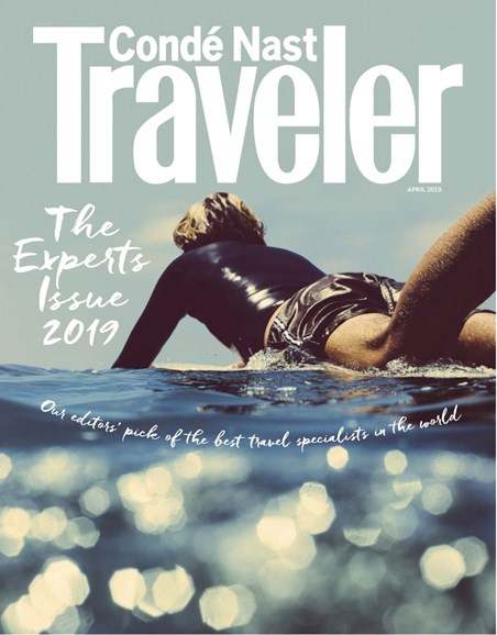 Condé Nast Traveler Cover - 4/1/2019