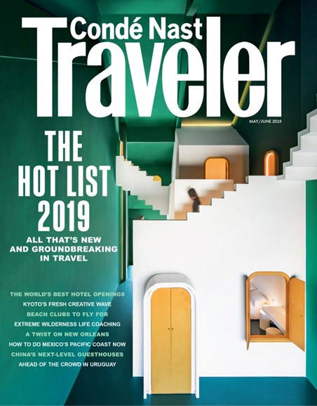 Condé Nast Traveler Cover - 5/1/2019