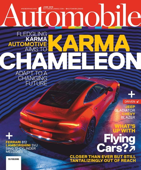 Automobile Cover - 6/1/2019