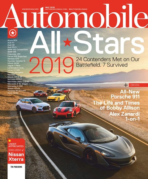 Automobile Cover - 5/1/2019