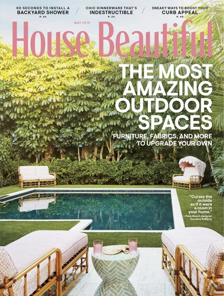 House Beautiful Cover - 5/1/2019