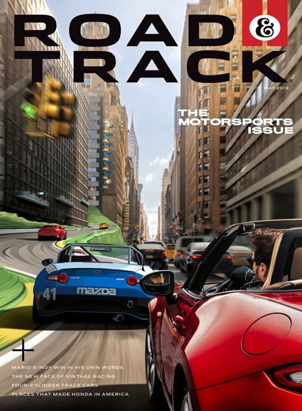 Road & Track Cover - 5/1/2019