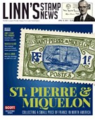 Linn's Stamp News Magazine 4/15/2019