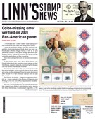 Linn's Stamp News Magazine 5/13/2019