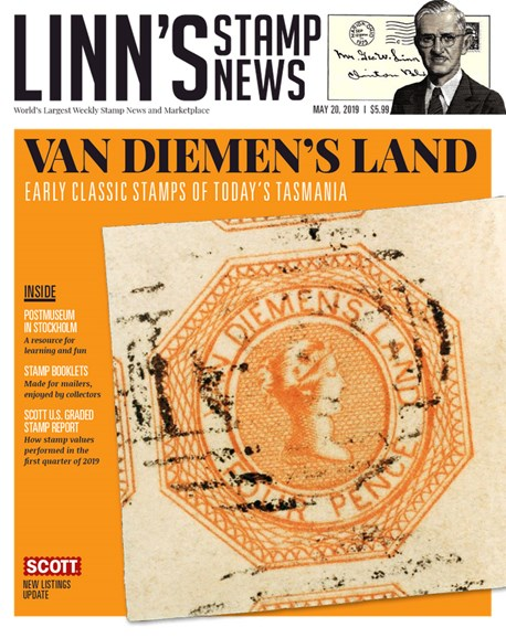 Linn's Stamp News Monthly Cover - 5/20/2019