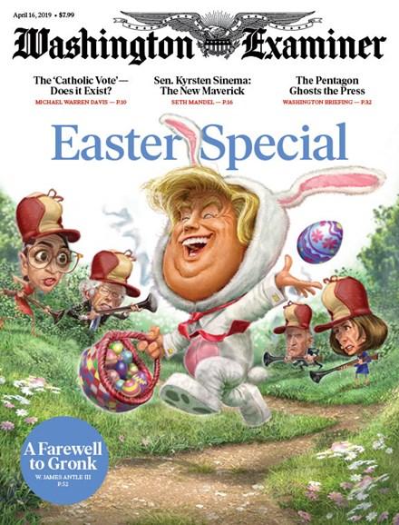Washington Examiner Cover - 4/16/2019