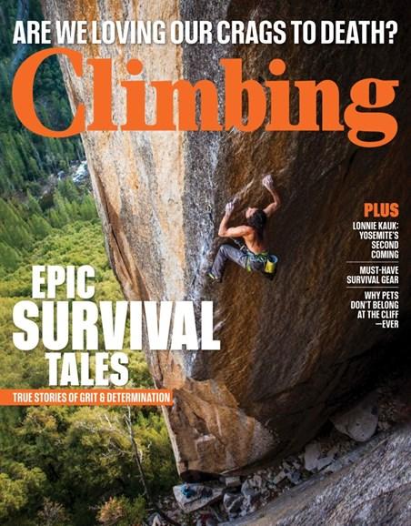 Climbing Magazine Cover - 6/1/2019