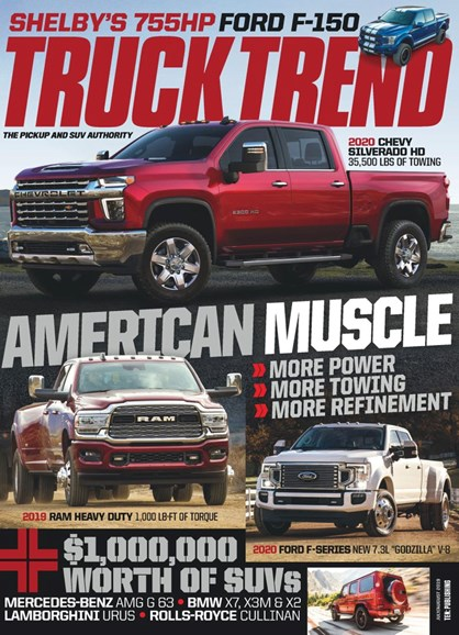 Truck Trend Cover - 7/1/2019