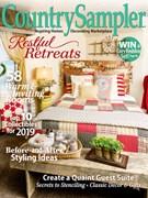Country Sampler Magazine 1/1/2019