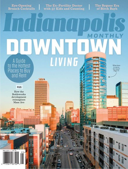 Indianapolis Monthly Cover - 5/1/2019