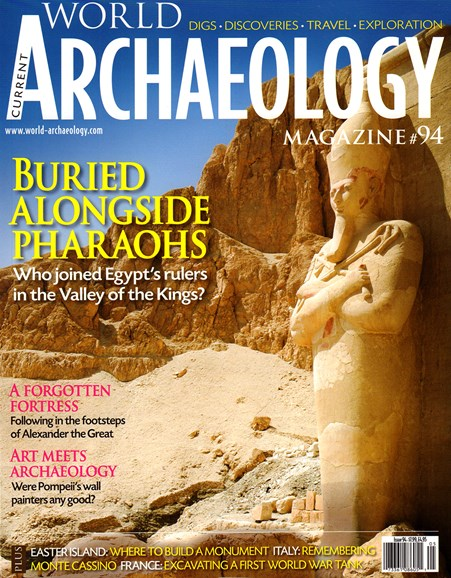 Current World Archaeology Cover - 4/1/2019