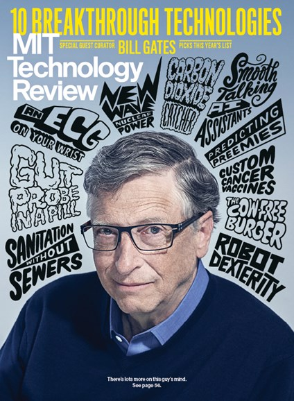MIT Technology Review Cover - 3/1/2019