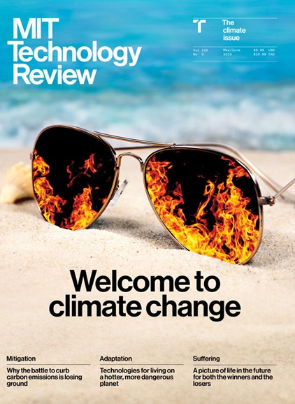MIT Technology Review Cover - 5/1/2019