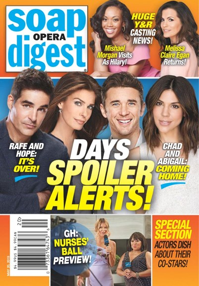 Soap Opera Digest Cover - 5/20/2019