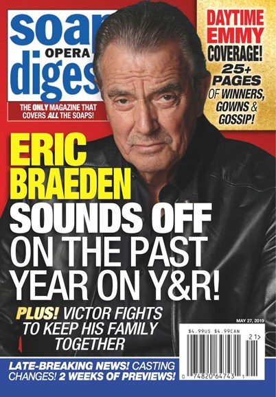 Soap Opera Digest Cover - 5/27/2019