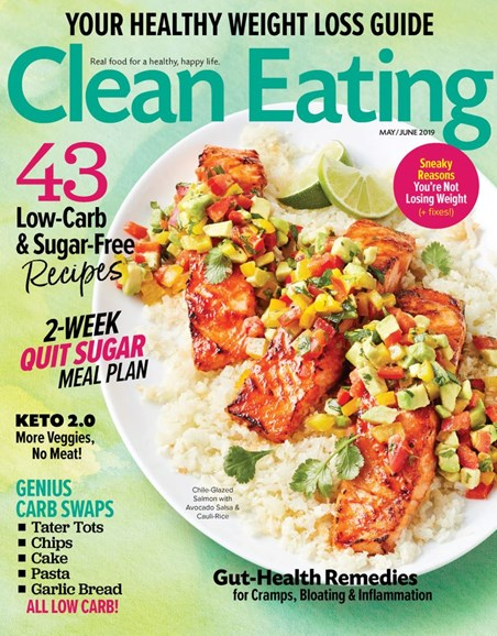 Clean Eating Cover - 5/1/2019
