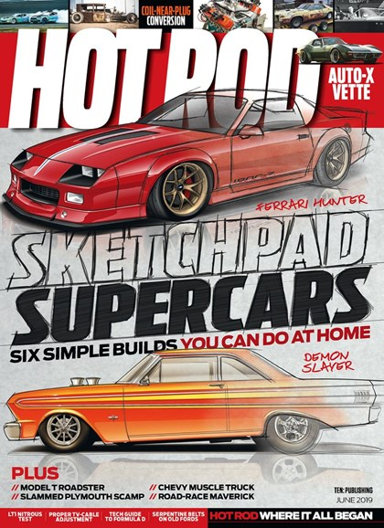 Hot Rod Cover - 6/1/2019