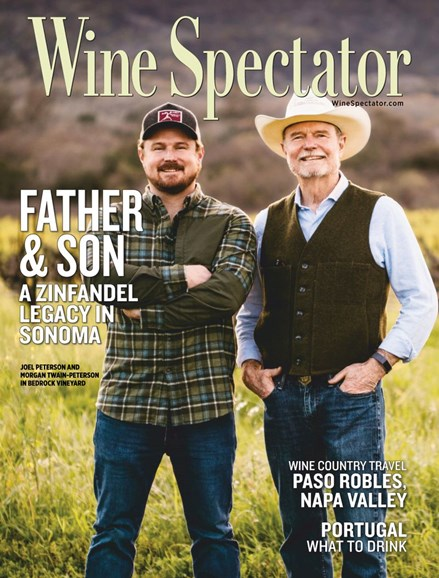 Wine Spectator Cover - 6/30/2019