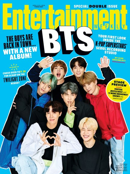 Entertainment Weekly Cover - 4/5/2019
