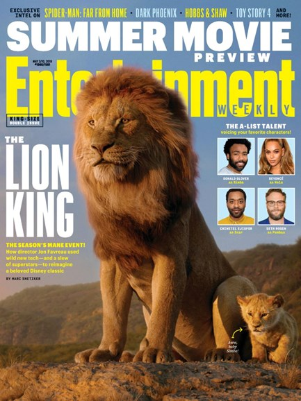 Entertainment Weekly Cover - 5/3/2019