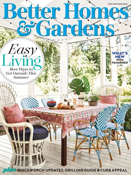 Better Homes & Gardens Cover - 6/1/2019