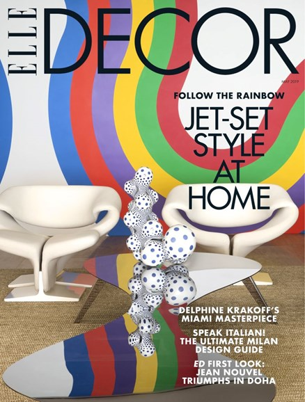 ELLE DECOR Cover - 5/1/2019