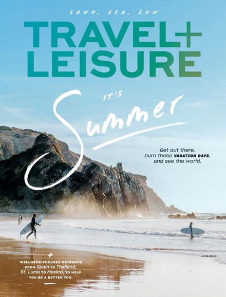 Travel + Leisure Cover - 6/1/2019