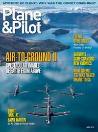 Plane & Pilot Magazine   6/2019 Cover
