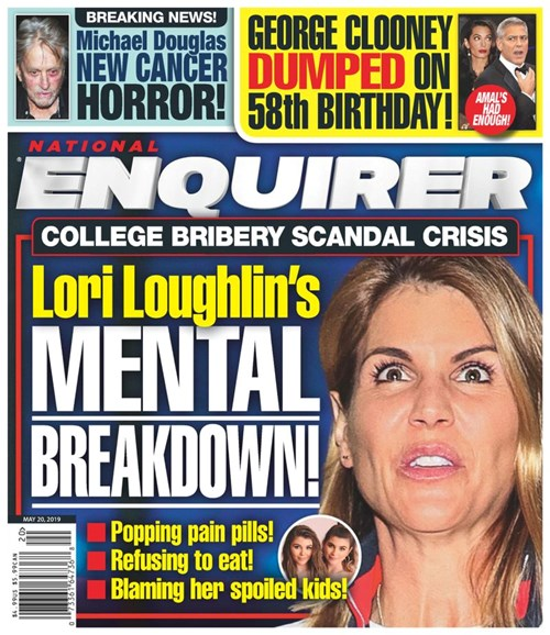 National Enquirer Cover - 5/20/2019