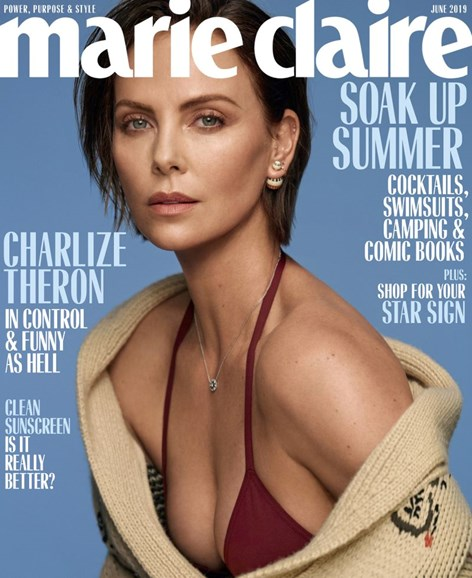 Marie Claire Cover - 6/1/2019