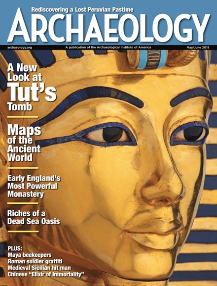 Archaeology Cover - 5/1/2019