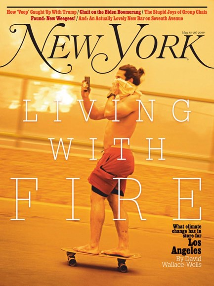 New York Magazine Cover - 5/13/2019