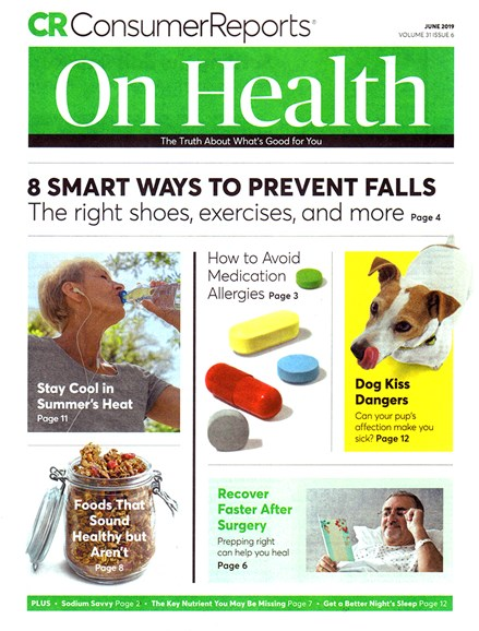 Consumer Reports On Health Cover - 6/1/2019