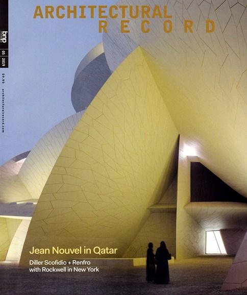 Architectural Record Cover - 5/1/2019