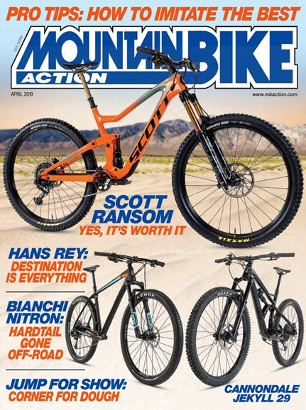 Mountain Bike Action Cover - 4/1/2019
