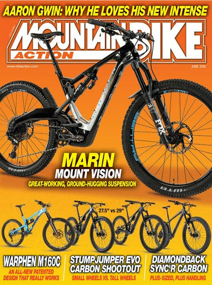Mountain Bike Action Cover - 6/1/2019