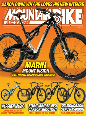 Mountain Bike Action Magazine | 6/2019 Cover